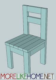 Plans For Wood Deck Chairs by More Like Home Day 4 Build A Simple Chair With 2x4s