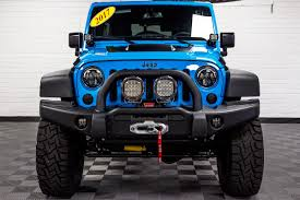 jeep wrangler front grill 2017 jeep wrangler rubicon unlimited chief blue