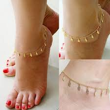 ankle bracelet jewelry images 2018 anklets foot jewelry gold silver plated summer style trendy jpg
