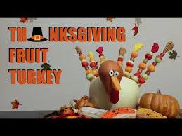 dyi thanksgiving fruit turkey