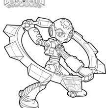 skylanders trap team coloring pages wolfgang character