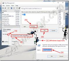 how to change the drive letter in windows 10 dvd and usb drives