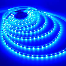 blue led light bedroom decor lighting self adhesive ribbon