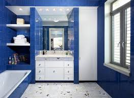 painting ideas for bathrooms small cool blue bathroom design ideas for 2018