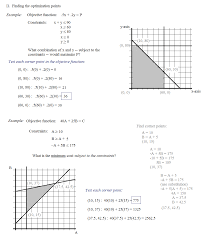 Linear Sequences Worksheet Math Plane Linear Programming Optimization