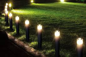 Led Outdoor Garden Lights Pretentious Design Ideas Outside Garden Lights Marvelous