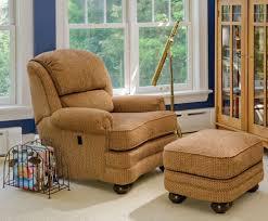 tilt back chair with ottoman 988 tilt back chair ottoman amish oak furniture mattress store