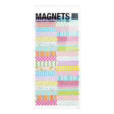 Washi Tape Designs by Design Ideas Multi Color Washi Tape Magnets The Container Store