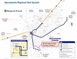 Sacramento Light Rail Map For 2011 Fta Shifts Focus Away From Project Cost Effectiveness