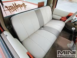 Classic Ford Truck Bench Seats - 1998 ford ranger smooth like puddin u0027 mini truckin u0027 magazine