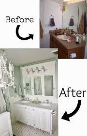 Fresh Manchester Oak Bathroom Vanity Makeover 8928