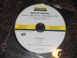 new holland boomer 3040 3045 3050 tractor service shop repair