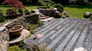 japanese garden landscape design hillside landscaping ideas on