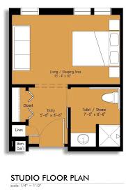 Studio Floor Plans 400 Sq Ft Assisted Living Apartment Floorplans