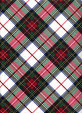 Scotch Plaid 3 Scotch Heavy Coated Wrapping Paper Tartan Plaid Red Yellow 75