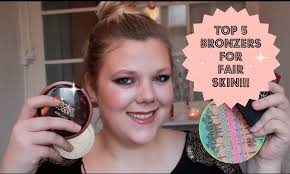 best bronzer for light skin my top 5 bronzers for fair skin and brush suggestions youtube