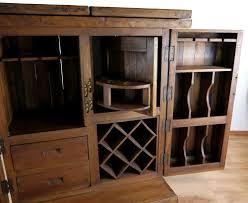 Wohnzimmerschrank Teak Teakholz Bar Wein Spirituosen Schrank Theke Hausbar Tresen Ebay