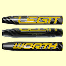 worth legit worth legit balanced flex fifty usssa pitch softball bat