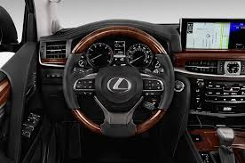 lexus lx 570 vs range rover 2016 lexus lx570 steering wheel interior photo automotive com