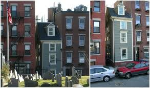 narrowest house in boston built after the american civil war out of spite skinny house is the