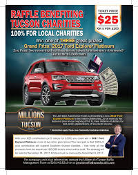 2017 raffle tickets for ford explorer platinum no kill pima county