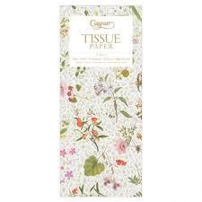 floral printed tissue paper wrap tissue paper gift wrap caspari