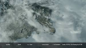 Solstheim Map Elder Scrolls V Skyrim Resonance Gem Locations