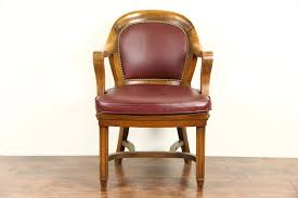 Leather Armchair Ebay Digital Imagery On Vintage Leather Office Chair 137 Vintage Desk