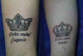 queen hat tattoo 40 king queen tattoos that will instantly make your relationship