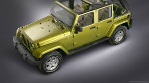 jeep wrangler top download 1600x900 green jeep wrangler top view wallpaper