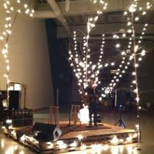 Church Stage Christmas Decorations Swags Of Lights Church Stage Design Ideas Life Church