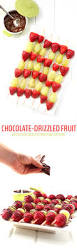 chocolate drizzled christmas fruit skewers the healthy maven