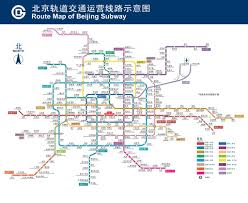 Beijing Metro Map by Beijing Public Transportation Network Scout Real Estate