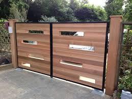 Backyard Gate Ideas Download Modern Wood Gate Garden Design