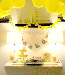 yellow baby shower decorations yellow baby shower ideas diabetesmang info