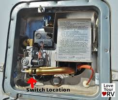 faulty electrical switch on a suburban sw6de water heater