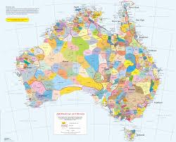 map of austrelia map of aboriginal australia reconciliation sa