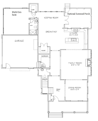 the chestnut home plan by stephen alexander homes in floor plans first floor second floor