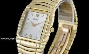 piaget tanagra piaget 18k yg mop tanagra quartz gents wristwatch 17061 m 401d