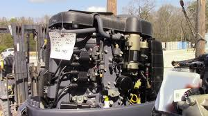 used 2006 yamaha f90tlr 90hp 4 stroke outboard boat motor 20