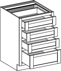 Unfinished Base Kitchen Cabinets Base Cabinets Cabinet Joint