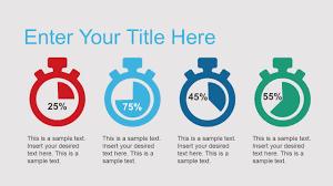 free business analysis infographic shapes slidemodel
