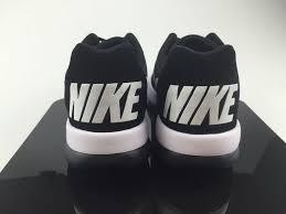 Comfort Running Shoes Mens Nike Md Runner 2 Lw Running Shoes Comfort Footbed Black White
