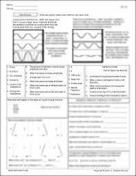all grade worksheets waves worksheet answers all grade
