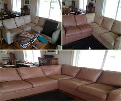 Leather Sofa Dyeing Service Best Leather Repair Service Before And After Pictures Florida