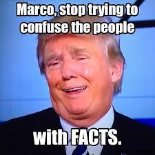 Presidential Memes - donald trump at cnn debate 2016 republican presidential primary