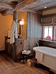 Wood Bathroom Ideas Country Western Bathroom Decor Hgtv Pictures Ideas Hgtv