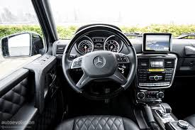 mercedes g class interior 2016 mercedes benz g63 amg review autoevolution