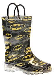 light up rain boots batman child light up rainboots