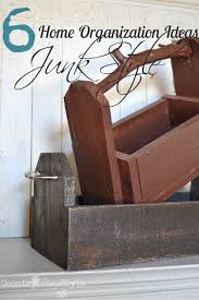 home organization junk style country design style